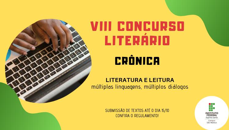 Concurso Literário é promovido como parte da Semana Nacional do Livro e da Biblioteca