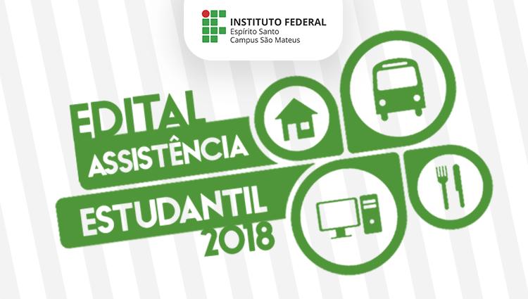Edital Assistência Estudantil 2018